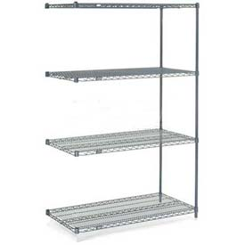 "Nexelon Wire Shelving Add-On 48""W X 24""D X 74""H"