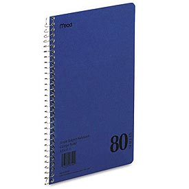 Mid Tier Notebook, Perforated Pages, 11 x 8-1/2, 80 Sheets