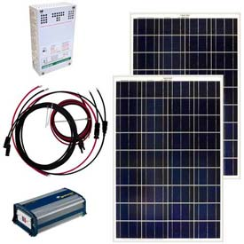 Grape Solar GS-200-KIT 200-Watt Off-Grid Solar Kit