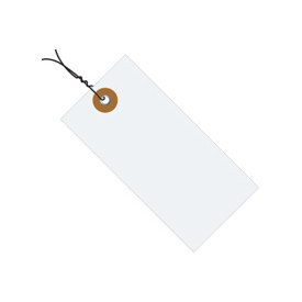"#1 Tyvek Pre-Wired Tag 2-3/4"" x 1-3/8"" - 1000 Pack"