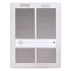 TPI Fan Forced Wall Heaters F3316T2RPW - 4000W 208V White