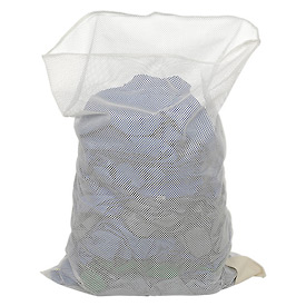 Mesh Bag W/Out Closure, White, 24x36, Heavy Weight - Pkg Qty 12
