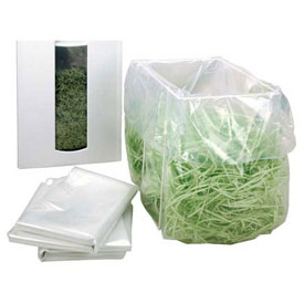 "HSM® Shredder Bags, 36"" x 30"" x 53"", 50/Box, Fits FA400 (Single Bin Set Up)"