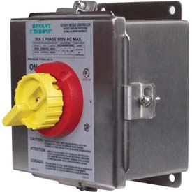 Nema 4x Stainless Steel Toggle Switch In Enclosure 30 Amp