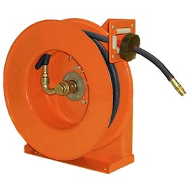"Hubbell GHC3850-L Low Pressure Hose Reel for Air / Water - 3/8""x 50' 300 PSI"