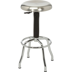 Industrial Stool - Stainless Steel