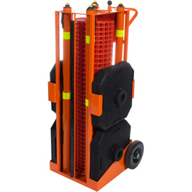 IRONguard PSZ-SLM Portable Safety Zone, 100' Safety Orange Fencing