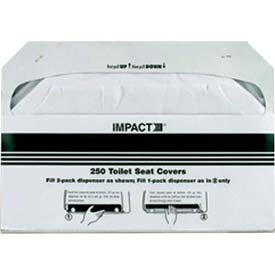 Impact® Toilet Seat Covers - 1000 Pack , 1111 - Pkg Qty 6