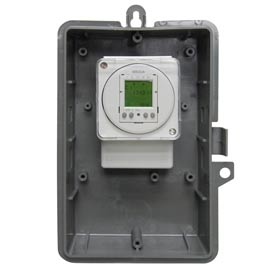 Intermatic GMXFM1D50-O-12 Electronic 24-Hour/7-Day Time Switch, NEMA 3R Outdoor Plastic Encl,16A,12V