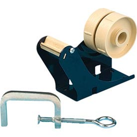 "B3-TC Desk Tape Dispenser with Mounting Hardware for Single/Multiple Rolls of Tape up to 2""W"