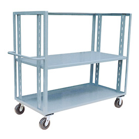 Jamco Adjustable Shelf Stock Truck CZ460 36 x 60