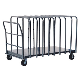 Jamco Adjustable Divider Truck with 12 Dividers DG472 36 x 72