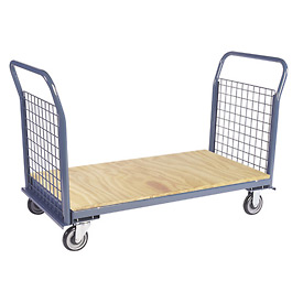 Jamco Wire Sided Platform Truck with 2 Wire Ends EP248 - 24 x 48 - 1200 Lb. Capacity