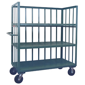Jamco 3 Sided Slat Truck HC348 30 x 48 with 3 Shelves