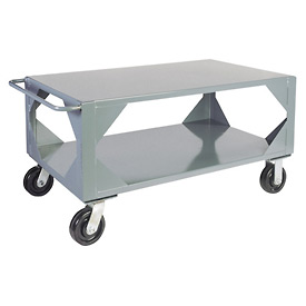 Jamco Mill Duty Mobile Table LM472 - 36 x 72