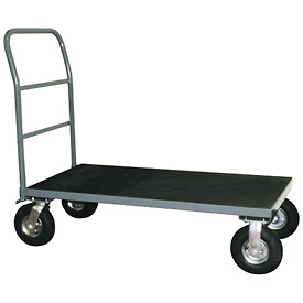 "Vinyl Matted Platform Truck w/ 5"" Poly Casters 30 x 48"