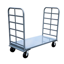 Jamco Twin Handle Platform Truck PS360 - 30 x 60 - 2000 Lb. Capacity