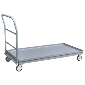 Jamco Steel Decked Platform Truck with Lips Up PU372 - 30 x 72