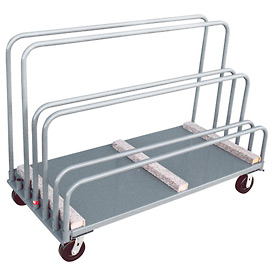 Jamco Adjustable Sheet and Panel Truck with Carpeted Rails TE360 30 x 60