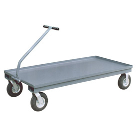 Jamco TN248 Wagon with 2 Rigid & 2 Swivel Casters - 24 x 48 - 1200 Lb. Capacity