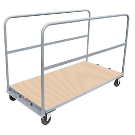 Jamco Removable Divider Sheet and Panel Truck with Wood Cap TU248 24 x 48