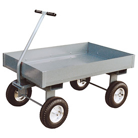 "Jamco Steel Deck Wagon Truck with 6"" Sides TX236 - 24 x 36"