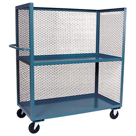 Jamco 3 Sided Mesh Truck ZB248 24 x 48 with 2 Shelves