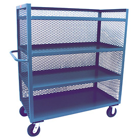 Jamco 3 Sided Mesh Truck ZD236 24 x 36 with 4 Shelves
