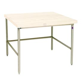 Bakers Production Table - Stainless Steel Frame 84X60