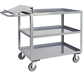 Jamco 3 Shelf Order Picking Cart LO448 1200 Lb. Capacity 36 x 48