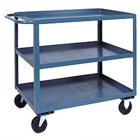 Jamco 3 Shelf Service Cart SC136 1200 Lb. Capacity 18 x 36
