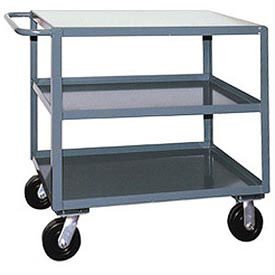 Jamco 3 Shelf Service Cart SF348 2400 Lb. Capacity 30 x 48
