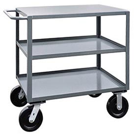 Jamco 3 Shelf Service Cart SK272 4800 Lb. Capacity 24 x 72