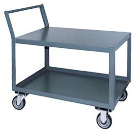 Jamco Offset Handle Low Profile Cart SL224 1200 Lb. Capacity 24 x 24