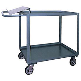 Jamco 2 Shelf Order Picking Cart SO348 1200 Lb. Capacity 30 x 48