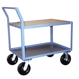 Jamco Offset Handle Low Profile Cart SW460 4800 Lb. Capacity 36 x 60