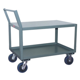 Jamco Offset Handle Low Profile Cart SX448 2400 Lb. Capacity 36 x 48