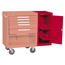 "Kennedy® 302XR 20"" 2-Shelf Hang-On Cabinet - Red"