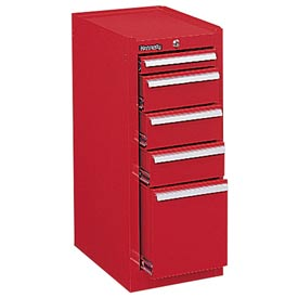 "Kennedy® 306XR 20"" 6-Drawer Hang-On Cabinet - Red"