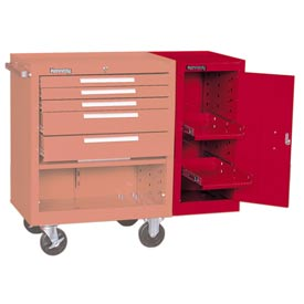 "Kennedy® 382XR 18"" Hang-On Cabinet - Red"