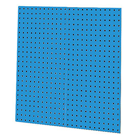 "Kennedy Manufacturing, 50002UB, 2-Panel Square Hole Toolboard Set 36""H x 18""W - Blue"