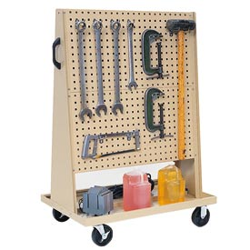 Kennedy Manufacturing - VTC Series - 50102TX - Trolley Based for 4 Panel Square Hole Set - Tan