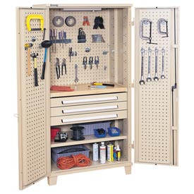 Kennedy® 50301TX Mini Workshop Cabinet - Tan