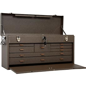 "Kennedy® 526B 26"" 8-Drawer Machinists Chest - Brown"