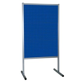 Kennedy Manufacturing 50068BL 3-Panel Double-Sided Toolboard Stand - Classic Blue