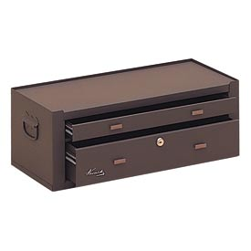 "Kennedy® MC22B 21"" 2-Drawer Machinists Chest - Brown"