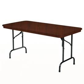 "Duralite Folding Table - Walnut Top 30""Wx96""L"