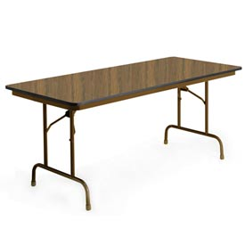 "KI Folding Table - Laminate - 36""Wx96""L - English Oak - Heritage Series"