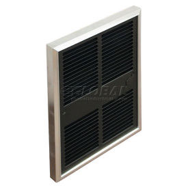 TPI Fan Forced Wall Heaters With Double Pole Thermostat H3052T2DWB - 2000/1500/1000/750W 240/208V