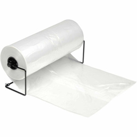 Clear Gusseted Bags on a Roll 1.5 mil, 24X20X48, 200 per Roll, Clear